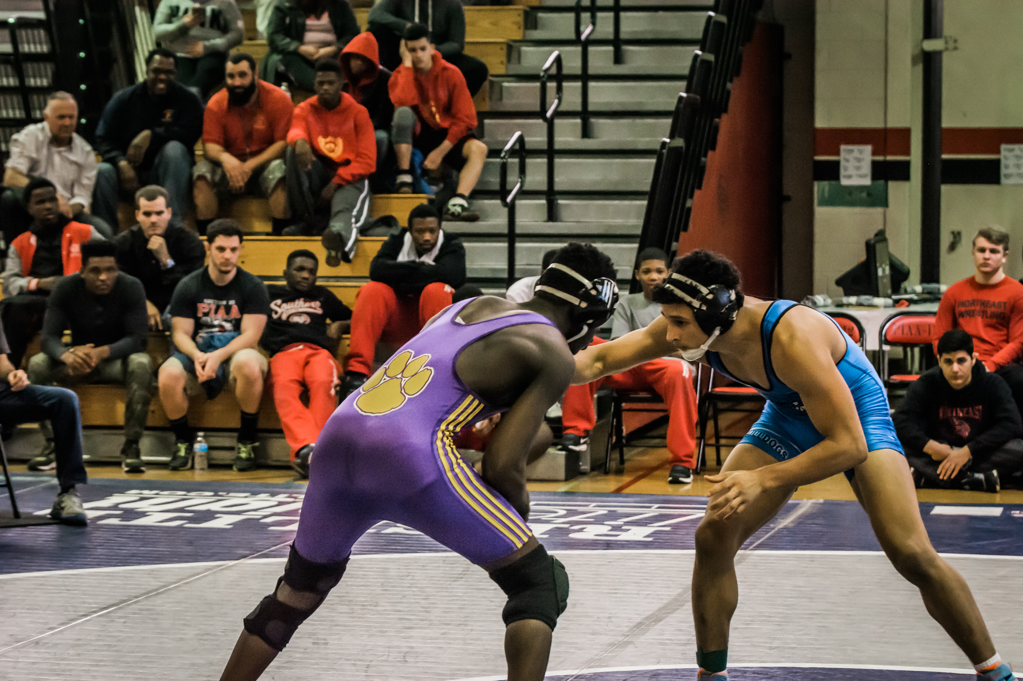 Martin Luther King hosts third annual Cougar Duals