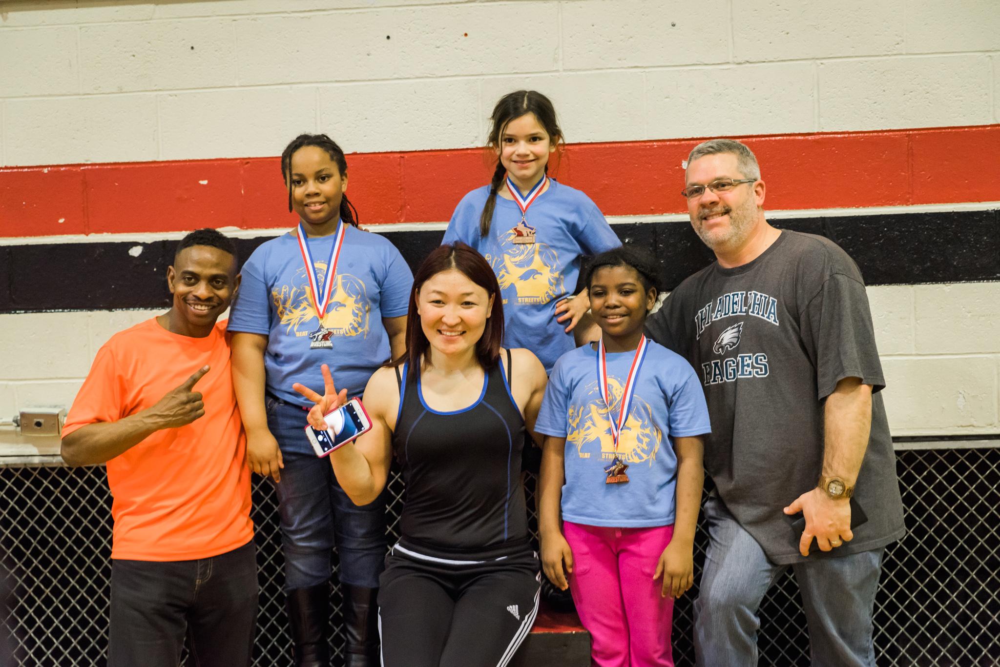 BTSP Hosts Philadelphia Youth Wrestling Day