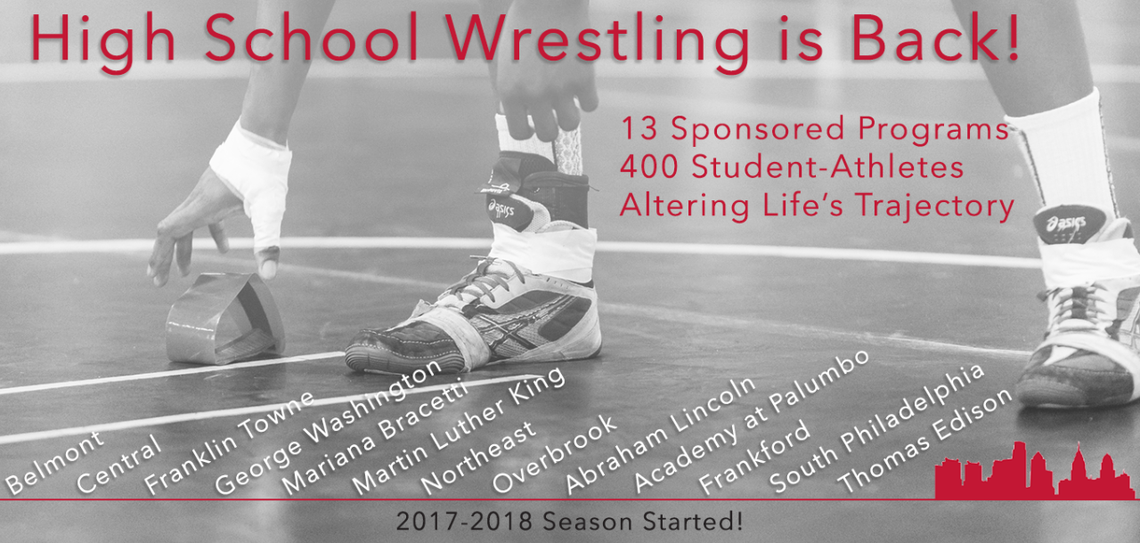High School Wrestling Season Has Started!
