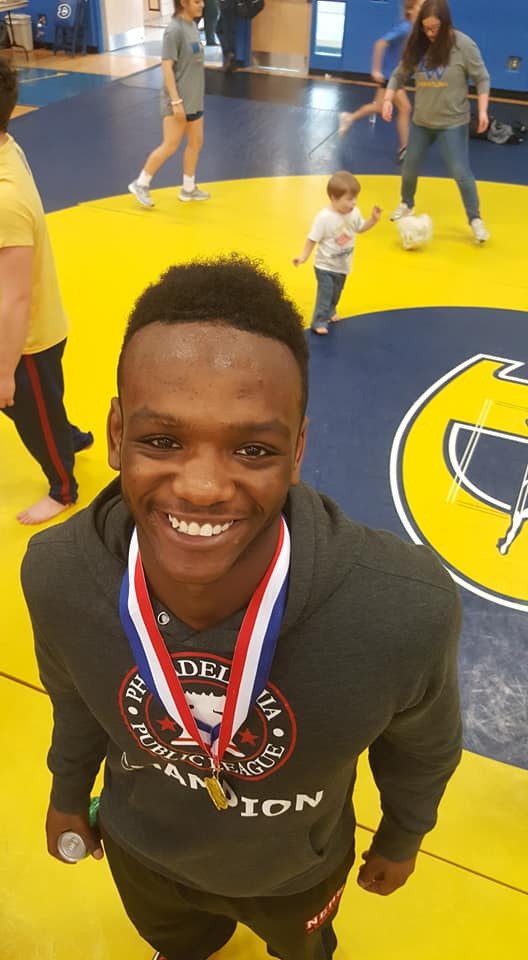 May Wrestler of the Month – Jameel Coles