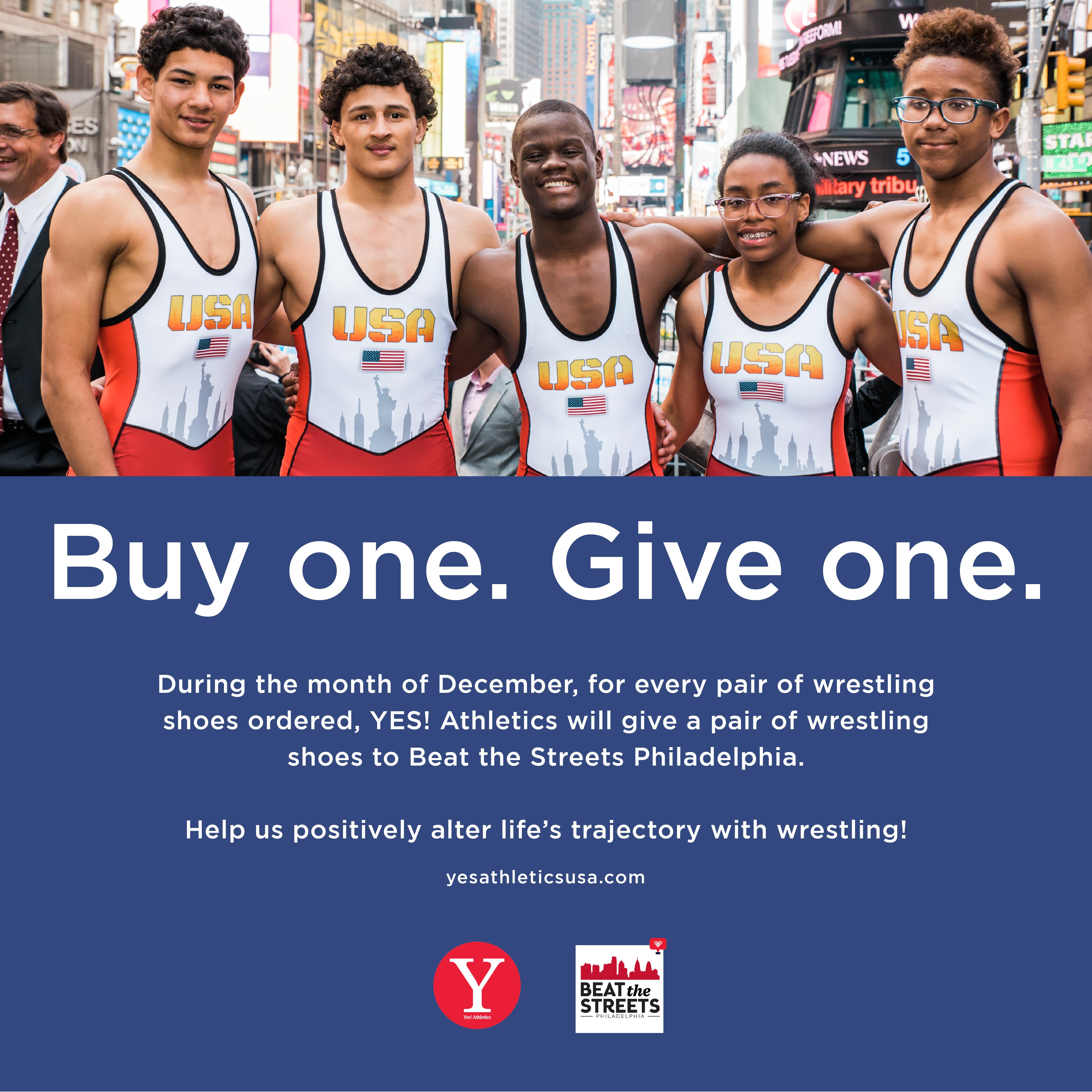 Giving Tuesday Partnership – Yes! Athletics